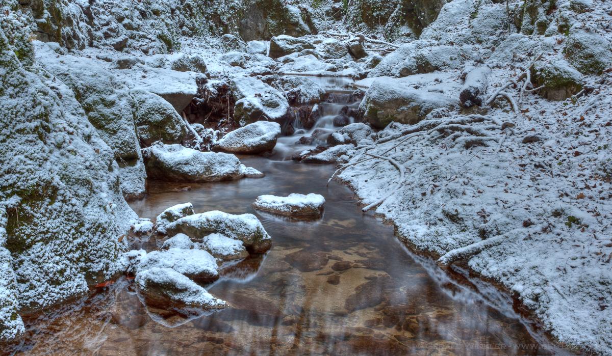 Johannesbach Neuschnee & Wasser