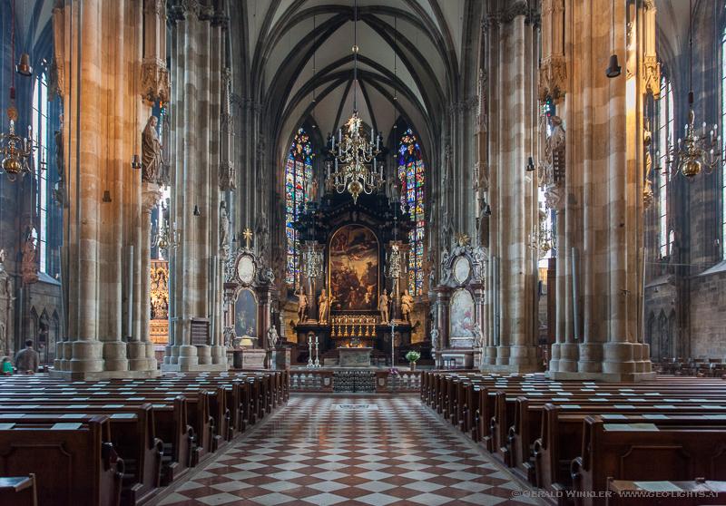 Stephans Kirche Dom innen
