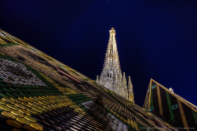 Stephanskirche dom Dach Turm seltene Ansicht