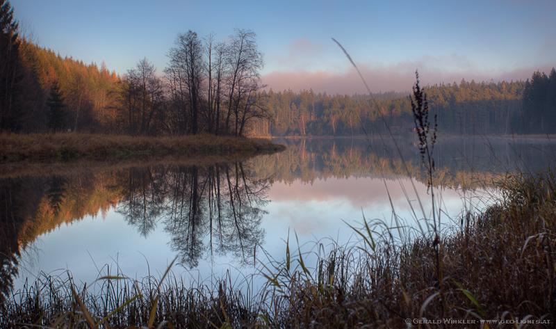 Weyrer Teich Bad Traunstein