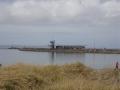 Hafen in Glowe aus der Ferne